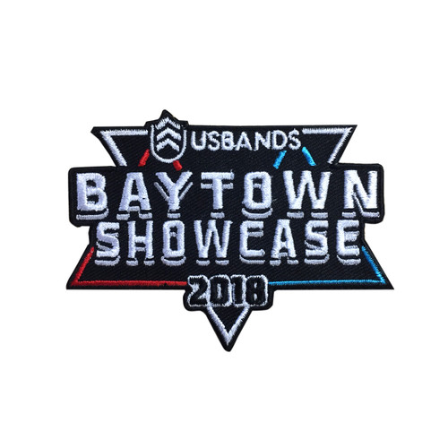 2018 USBands Baytown Showcase Event Patch