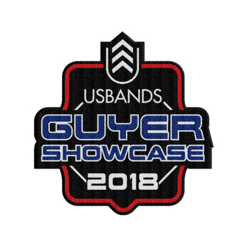 2018 USBands Guyer Showcase Event Patch