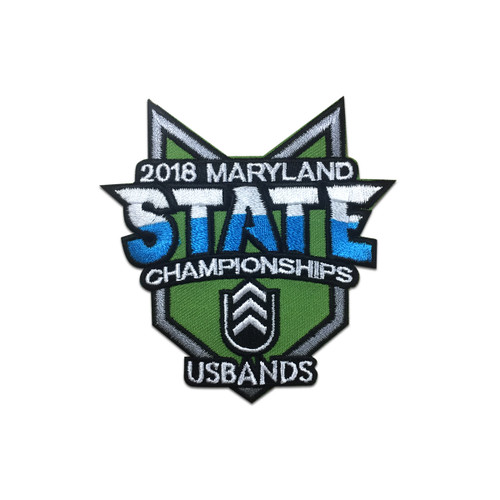 2018 USBands Maryland State Championship Event Patch