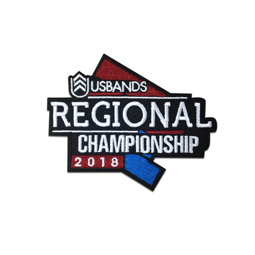2018 USBands Regional  Championship Event Patch