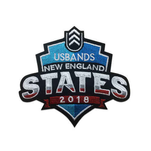 2018 USBands New England States  Championship Event Patch
