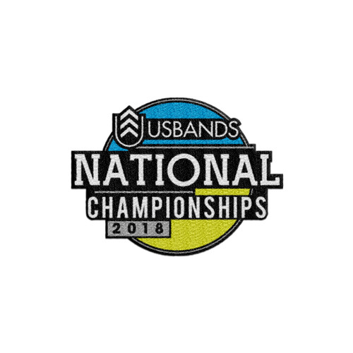 2018 USBands National Championships Patch