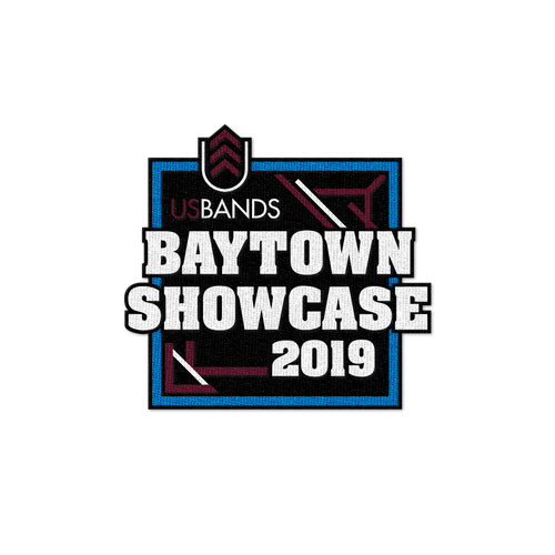 2019 USBands Baytown Showcase Patch