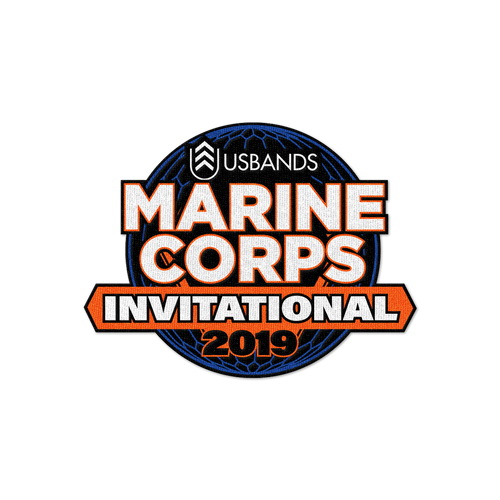 2019 USBands Marine Corps Invitational Patch