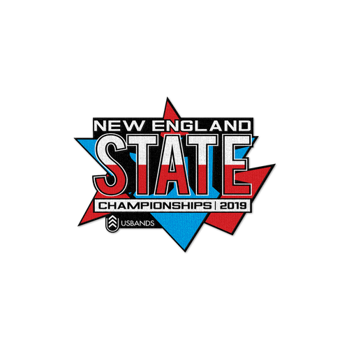 2019 USBands New England State Championships Patch