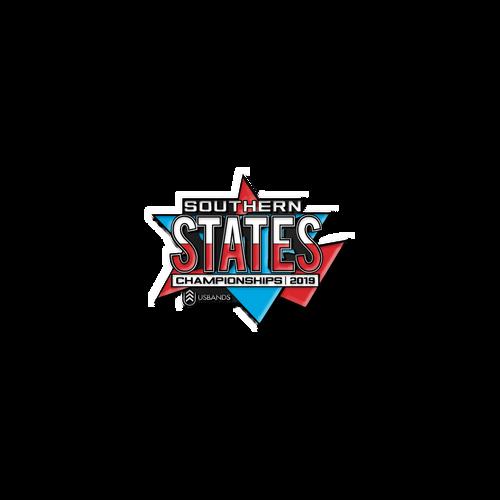 2019 USBands Southern States Championships Pin