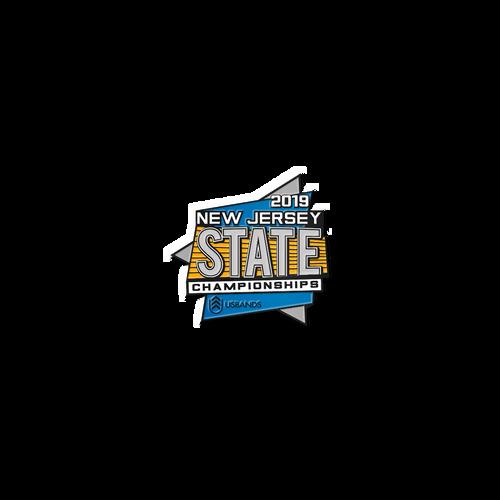 2019 USBands New Jersey State Championships Pin