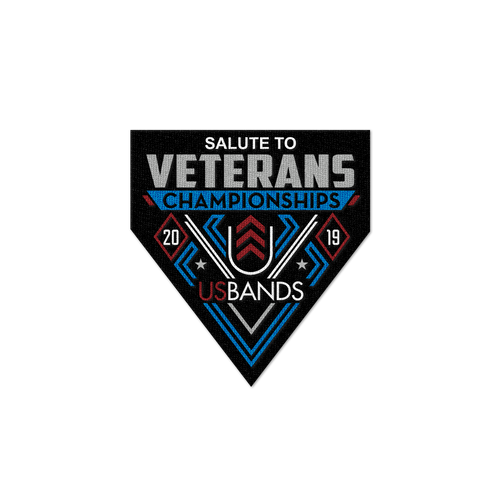 2019 USBands Salute to Veterans Championships Patch