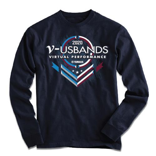 2020 V-USBands Season Navy Long Sleeve