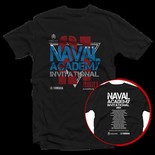 2021 USBands Naval Academy Invitational T-Shirt