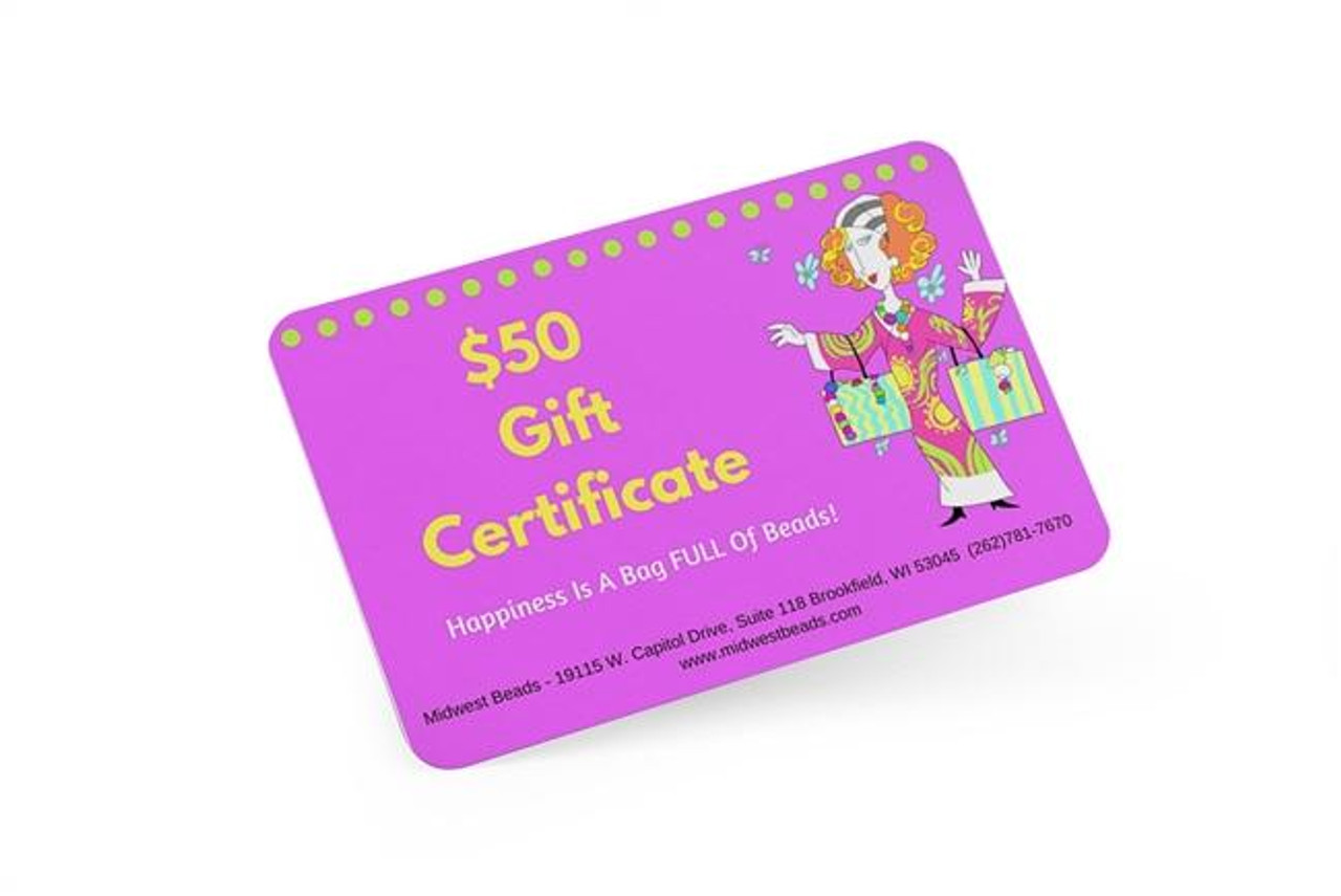 $50 In-Store Gift Certificate