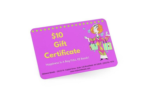 $10 In-Store Gift Certificate