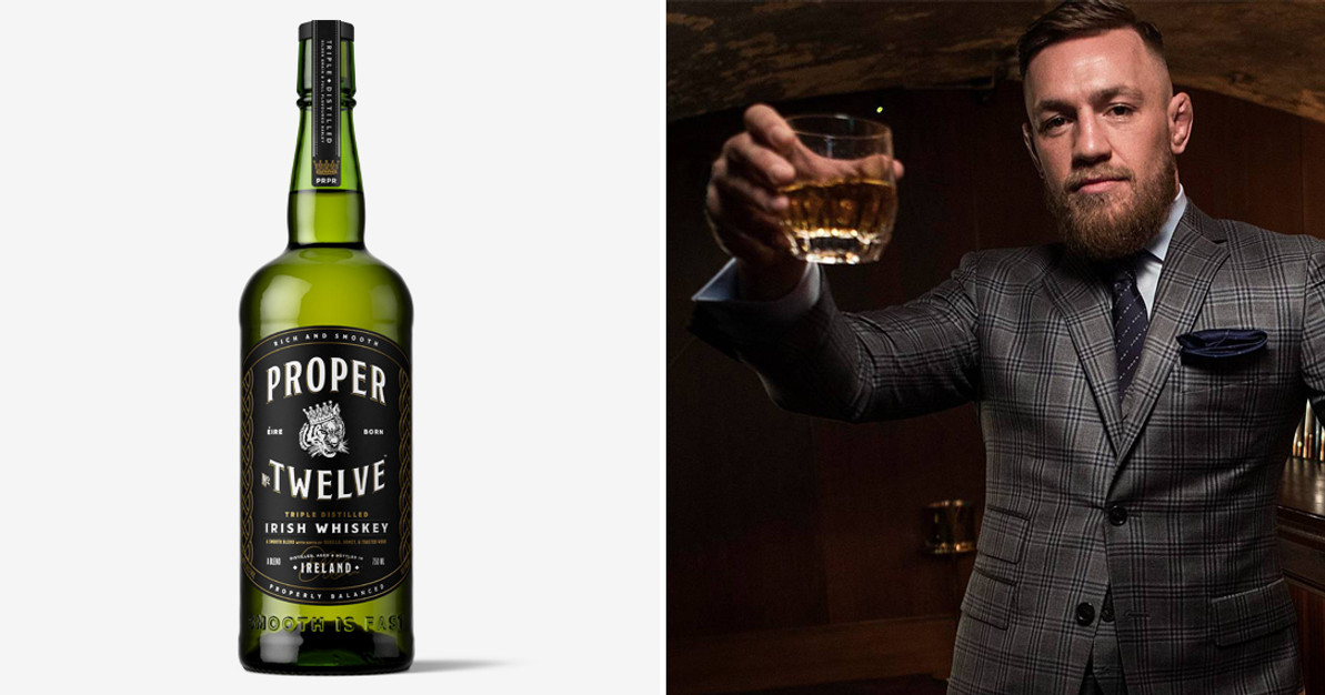 proper twelve  Conor McGregor's Proper No. Twelve Irish Whiskey - NapaCabs