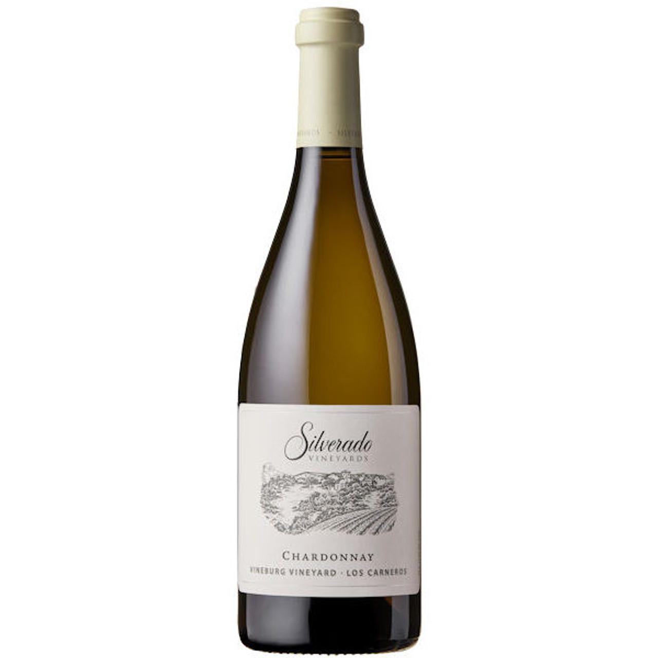 12 Bottle Case Silverado Estate Los Carneros Chardonnay 2017 W Free Shipping