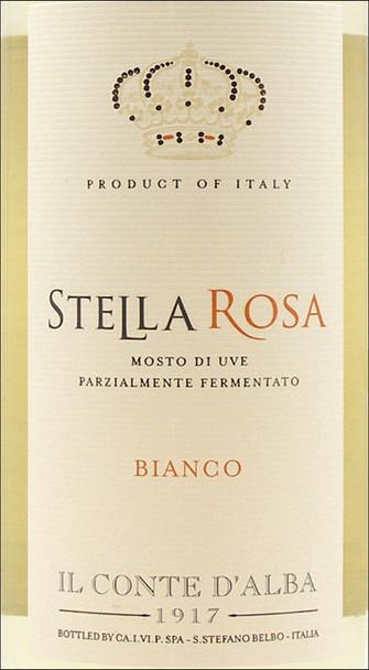 Il Conte d'Alba Stella Rosa Bianco NV (Italy)