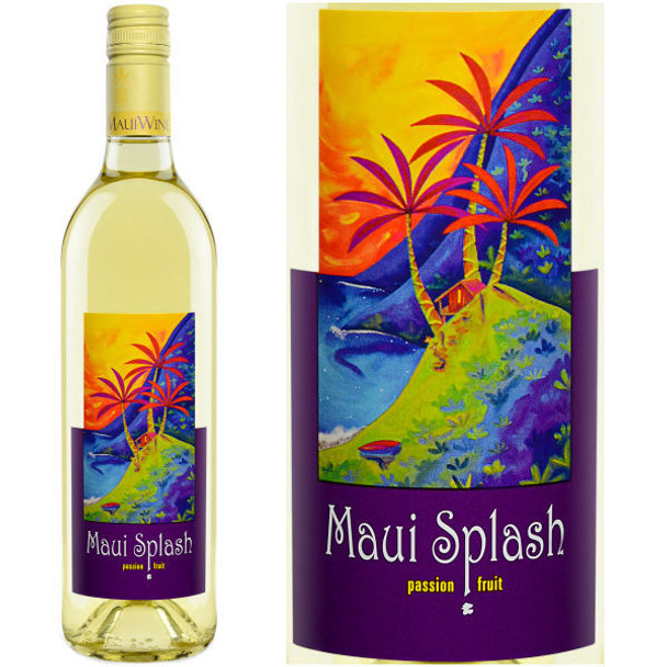 Maui Wine Maui Splash Sweet Pineapple Wine NV (Hawaii)