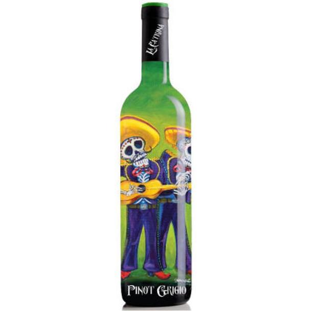 La Catrina Day of the Dead The Mariachi's California Pinot Grigio