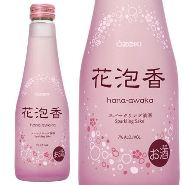 Ozeki Hana Awaka Junmai Sparkling Sake 250ML