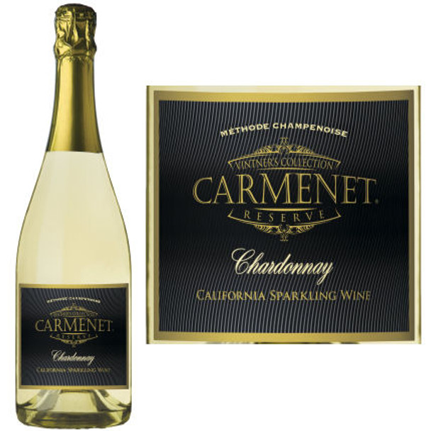 Carmenet California Sparkling Chardonnay NV Rated 93 GOLD MEDAL