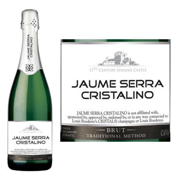 Jaume Serra Cristalino Brut Cava NV Spain