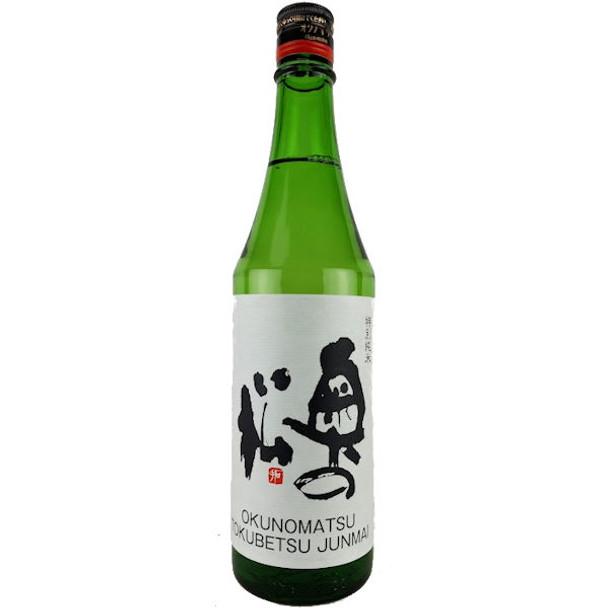 Okunomatso Tokubetsu Junmai Sake 720ML