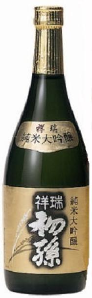 Hatsumago Shozui Junmai Daiginjo Sake 720ML