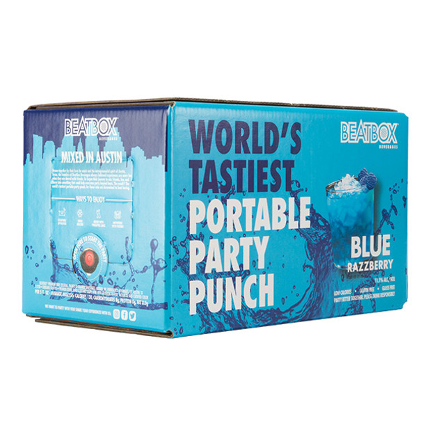 BeatBox Beverages Blue Razzberry 3L