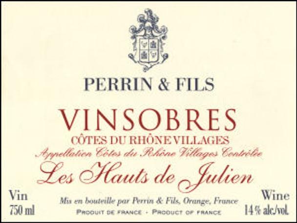 Perrin Vinsobres Vieilles Vignes les Hauts de Julien 2004 (France) Rated 90WA