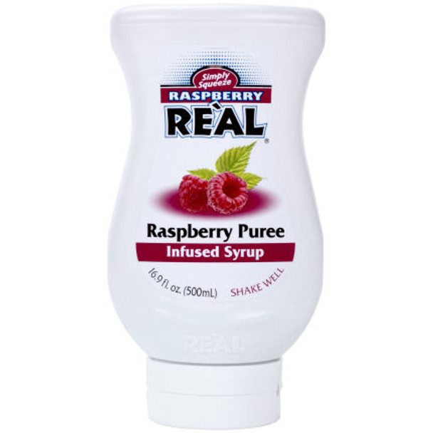 Raspberry Real Puree Infused Syrup 16.9oz