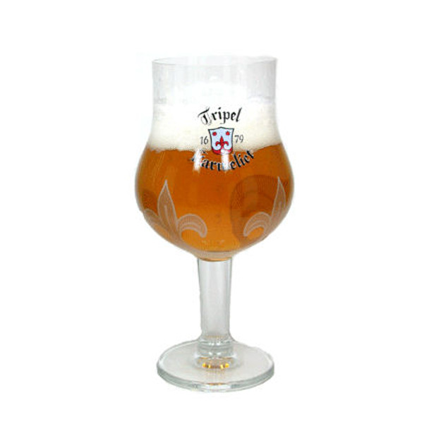 Triple Karmeliet Beer Glass Approx 12oz