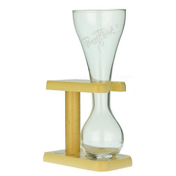 Pauwel Kwak Beer Glass with Stand approx 12oz