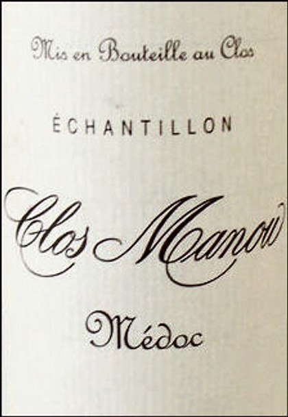 Clos Manou Medoc 2006 Rated 90WA