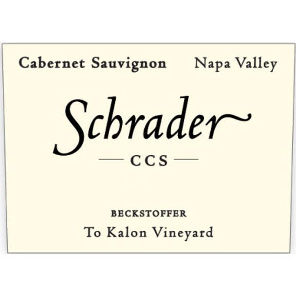 Schrader CCS Beckstoffer To Kalon Napa Cabernet