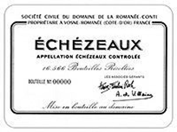 DRC Domaine de la Romanee-Conti Echezeaux 2015 Rated 93WA
