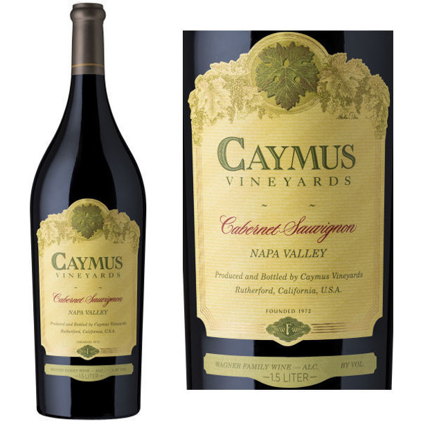 Caymus Vineyards 43rd Anniversary Napa Cabernet