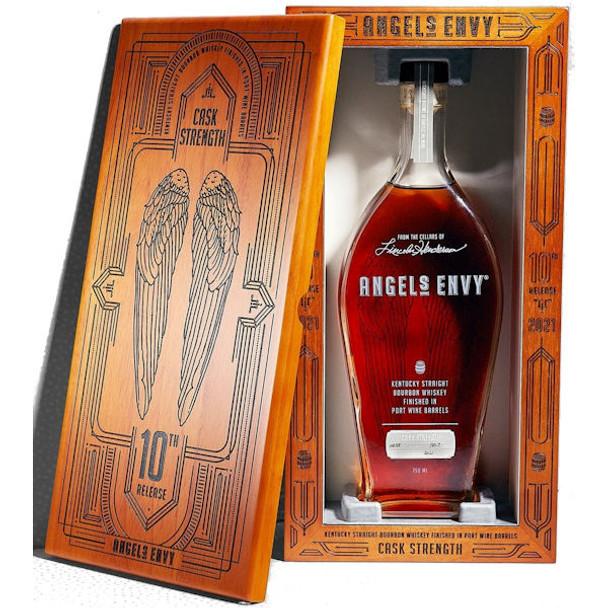 Angel's Envy Cask Strength Port Barrel Finished Kentucky Straight Bourbon Whiskey 750ml