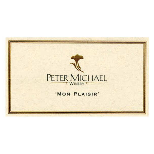 Peter Michael Mon Plaisir Kinghts Valley Chardonnay