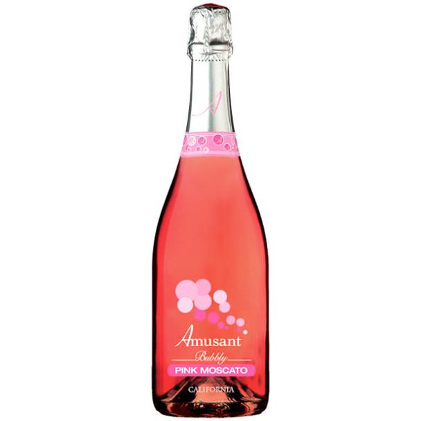 Allure Bubbly California Pink Moscato NV