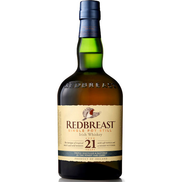 Redbreast 21 Year Old Irish Whiskey 750ml