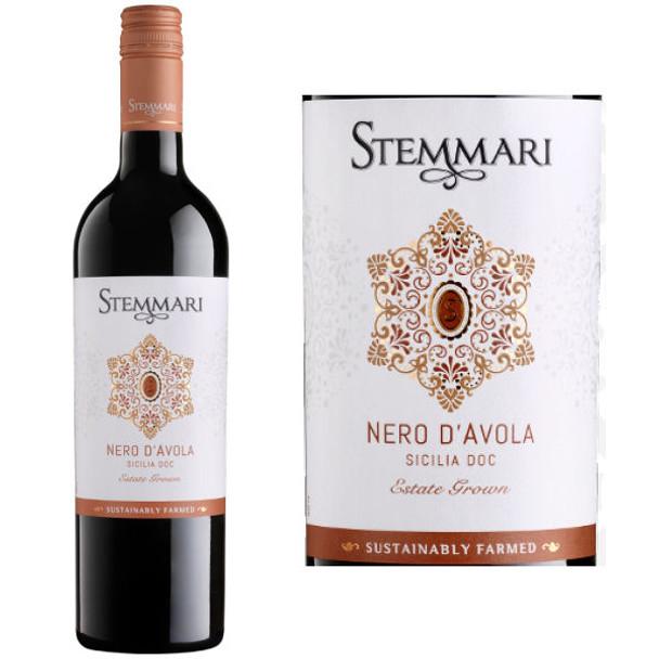 Stemmari Arancio Nero d'Avola Sicilia IGT