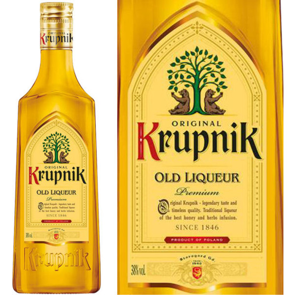 Original Krupnik Honey Old Liqueur 750ml