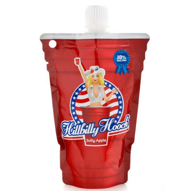 Hillbilly Hooch Jolly Apple Pouch 187ml