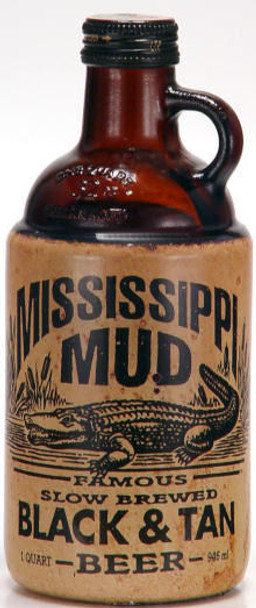 Mississippi Mud Black & Tan 1 Quart