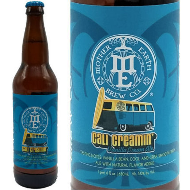 Mother Earth Cali Creamin' Vanilla Cream Ale 22oz
