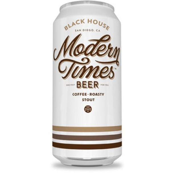 Modern Times Black House Stout 16oz 4 Pack