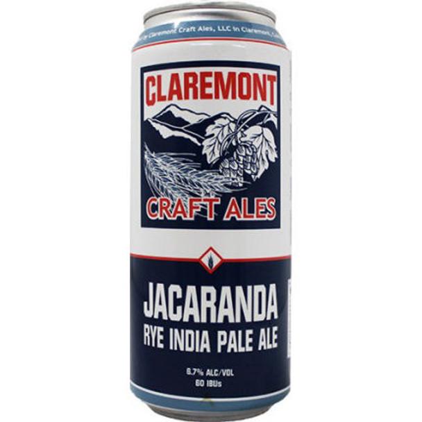 Claremont Jacaranda Rye IPA 16oz 4 Pack Cans