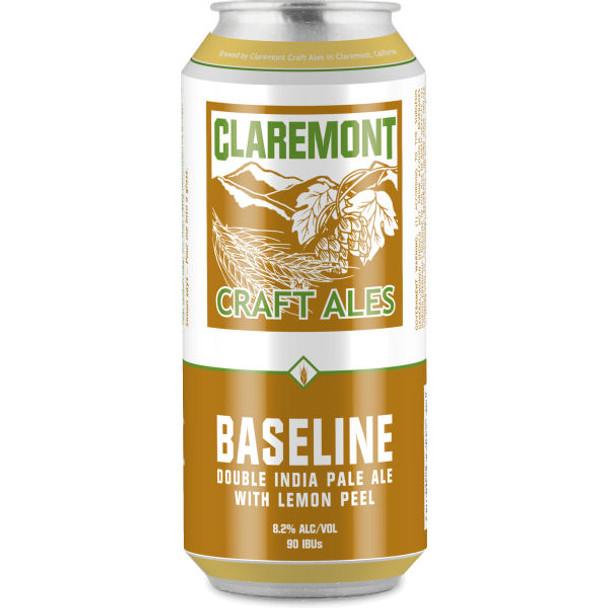 Claremont Baseline Double India Pale Ale 16oz 4 Pack Cans