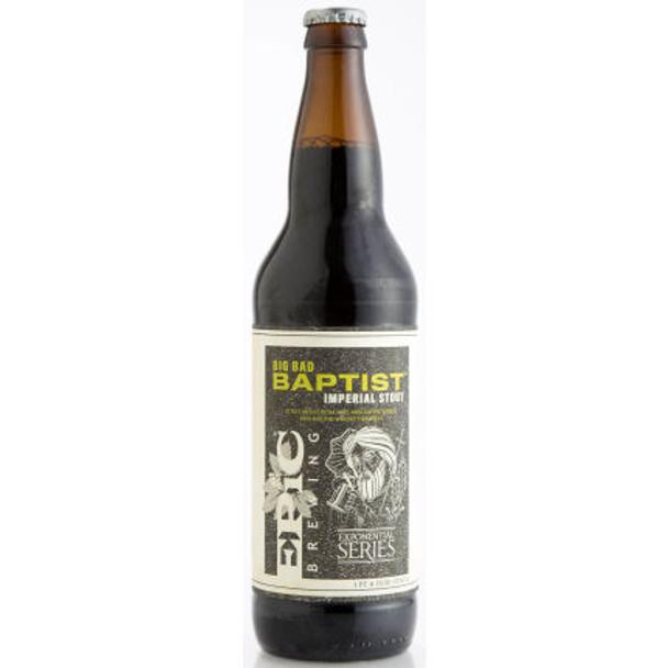 Epic Brewing Big Bad Baptist Imperial Stout 22oz