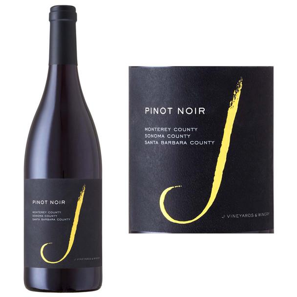 J Vineyards Monterey, Sonoma, Santa Barbara Pinot Noir