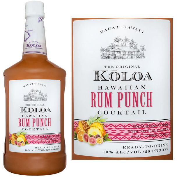 Koloa Hawaiian Rum Punch 1.75L
